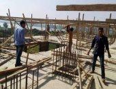 حملات موسعة للتجميل وإزالة التعديات وتطهير مخرات السيول بمركز المنيا