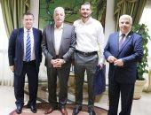 صور.. محافظ جنوب سيناء يستقبل سفير دولة أوكرانيا