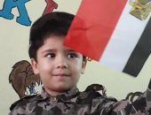 صور.. أطفال يحتفلون بانتصارات أكتوبر بالأعلام و الأناشيد الوطنية