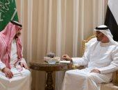 محمد بن زايد يبحث مع نائب وزير الدفاع السعودى أوضاع المنطقة والتحديات الراهنة