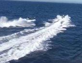 شاهد..مهربو المخدرات ينقذون خفر السواحل خلال مطاردتهم فى إسبانيا