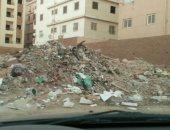 شكوى من انتشار القمامة بمنطقة الهضبة الوسطى بالمقطم