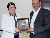وزير الداخلية الأردنى يلتقى السفيرة الهولندية فى عمان