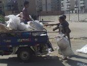 شكوى من انتشار القمامة بمنطقة النهضة حى السلام ثان