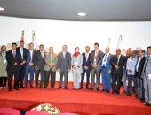 صور.. نائب محافظ الأقصر يشهد إفتتاح فعاليات المنتدى العربى للمدن الذكية