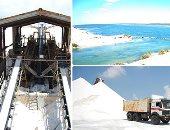 مصر تنتج 4.6 مليون طن ملح بقيمة مليار جنيه سنويا نصفه من سيناء وسيوة