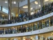 """""""المولات التجارية"""" تتحول إلى ساحات للتظاهر فى هونج كونج.. فيديو"""