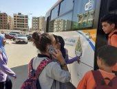 جهاز الشروق يستحدث 4 خطوط سير نقل جماعى لخدمة طلاب المدارس بالمدينة