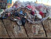 قارئ يشكو من انتشار القمامة داخل المنطقة السكنية بمدينة دسوق