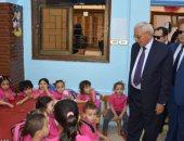 صور.. محافظ الدقهلية يفتتح مدرسة المحمدية وحضانة الفردوس الإسلامية بعد تطويرهما