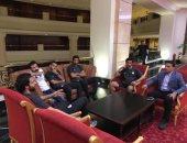 فرمان من حسام البدرى لعزل لاعبى المنتخب عن نزلاء الفندق