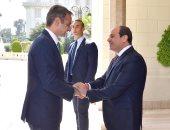 فيديو لاستقبال الرئيس السيسي لنظيره القبرصى ورئيس وزراء اليونان