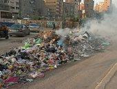 اضبط مخالفة.. تلال القمامة وكابلات كهرباء تهدد سكان حى الضواحى ببورسعيد