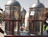 صور.. حملات تفتيشية على الباعة الجائلين أمام مدارس القصير بالبحر الأحمر