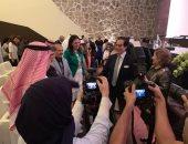 فاروق حسنى يلقى محاضرة فى البحرين عن تجربته بـ إدارة الثقافة فى مصر