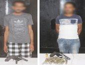 ضبط 4 خارحين عن القانون بدمياط بحوزتهم سلاح ناري