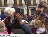 فيديو.. مباركة كنيسة كاثوليكية للحيوانات فى البيرو