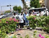 صور.. محافظ أسوان يتابع معدلات تنفيذ محور الخزان الجديد وميدان مجدى يعقوب