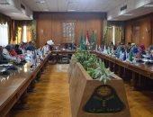 رئيس جامعة المنوفية: نحرص على بث روح انتصارات أكتوبر فى قلوب الأجيال الصاعدة