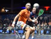 محمد الشوربجى وطارق مؤمن يتأهلان إلى ربع نهائى بطولة أمريكا المفتوحة للإسكواش