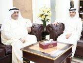 رئيس مجلس الأمة الكويتى يستقبل رئيس لجنة معرض الكويت للطيران 2020