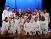 """صور.. محافظ جنوب سيناء يشهد العرض المسرحى """"ولاد البلد"""" بقصر ثقافة شرم الشيخ"""