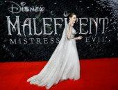 أنجلينا جولى تخطف الأنظار فى جولة ترويجية لفيلمها Maleficent: Mistress Of Evil