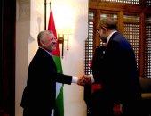 رئيس مجمع ليبيا للدراسات يلتقى العاهل الأردنى فى العاصمة عمان