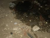 قارئ يشكو من طفح مياه الصرف الصحى بمنطقة شقق الاسكان الجديدة بشبرا الخمية