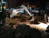 محافظ أسوان: غرق طريق السماد بمياه الصرف بسبب كسر مواسير زهر قديمة