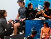 روح رياضية وثنائيات زوجية.. كواليس بطولة أمريكا المفتوحة للإسكواش
