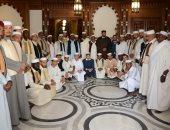 أئمة ليبيا المتدربين بمنظمة خريجى الأزهر يزورون هيئة كبار العلماء