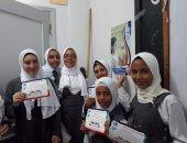 صور.. مياه الشرب تنظم أنشطة توعية مائية لطالبات معهد الفتيات النموذجى بالغردقة
