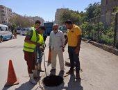 حملات بالقاهرة لتطهير بالوعات الصرف الصحى استعدادا لموسم الشتاء