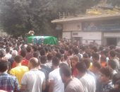 جنازة مهيبة للطالب محمود البنا ضحية البلطجة فى المنوفية..والأهالى: راجح قاتل