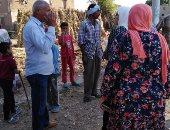 """صور.. وفد متابعة المشروعات بـ""""الوزراء"""" يزور القرى الأكثر احتياجًا بأسيوط"""