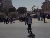 """أهالى """"قرية أم القصور"""" يطالبون بإنشاء مطب صناعى أمام مجمع المدارس بأسيوط"""