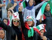 جميلات إيران تتألقن فى المدرجات خلال لقاء كمبوديا بتصفيات المونديال.. فيديو وصور
