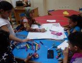 صور.. ورش فنية للأطفال عن نصر أكتوبر بقصور الثقافة بالإسكندرية