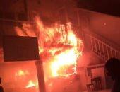 السيطرة على حريق بسوق المعمورة شرق الإسكندرية دون إصابات
