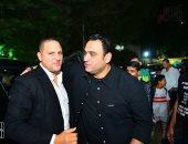 مصطفى شعبان وأحمد داوود وأكرم حسنى وخالد زكى يشاركون بعزاء طلعت زكريا