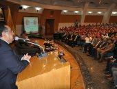 """جامعة حلوان تعقد ندوة بعنوان """"أكتوبر حكاية نصر"""".. صور"""