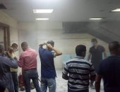 السيطرة على حريق مستشفى جامعة بنى سويف.. ولا خسائر فى الأرواح