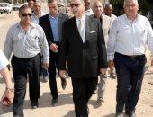 محافظ بنى سويف يتفقد أعمال تطوير كورنيش النيل ويوجه برفع كفاءة نادى الكشافة