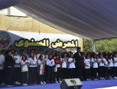 صور.. جامعة حلوان تشارك فى معرض ذاكرة أكتوبر