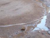 صور.. قارئ يشكو انتشار المياه الجوفية بشارع فرج إمام بكفر الشرفا المرج