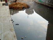 صور.. شكاوى من انتشار مياه الصرف الصحى بالعزب البيضاء بالمرج الجديدة
