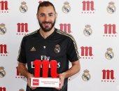 """كريم بنزيما يحتفظ بجائزة """"لاعب الشهر"""" فى ريال مدريد"""