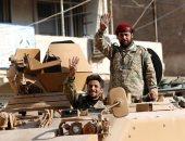 إخوان ودواعش على مدرعات قوات الاحتلال التركى بسوريا
