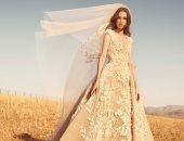 فساتين زفاف زهير مراد لعروس خريف 2020 تمزج بين جمال الطبيعة والتطريز